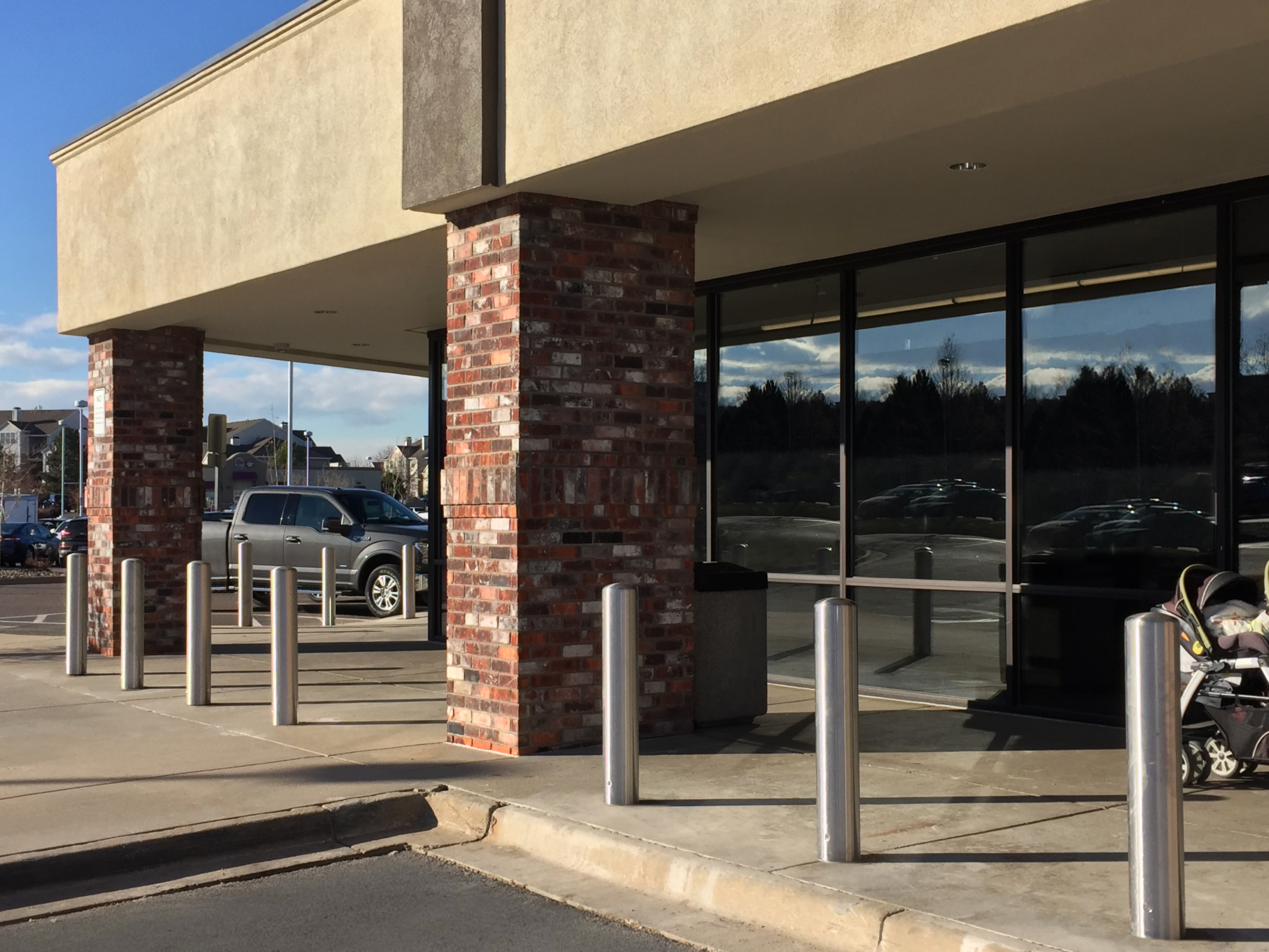 How Can You Prevent Storefront Crashes and Improve Safety? Meet McCue's CrashCore Bollard.