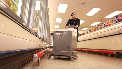 sales floor safety bumper