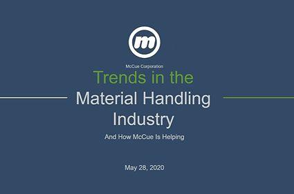 McCue Trends in the Material Handling Industry Webinar