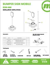 McCue Safety Product Sheet Installation Instruction Information