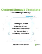 McCue Safety Product Sheet Graphic Art Template