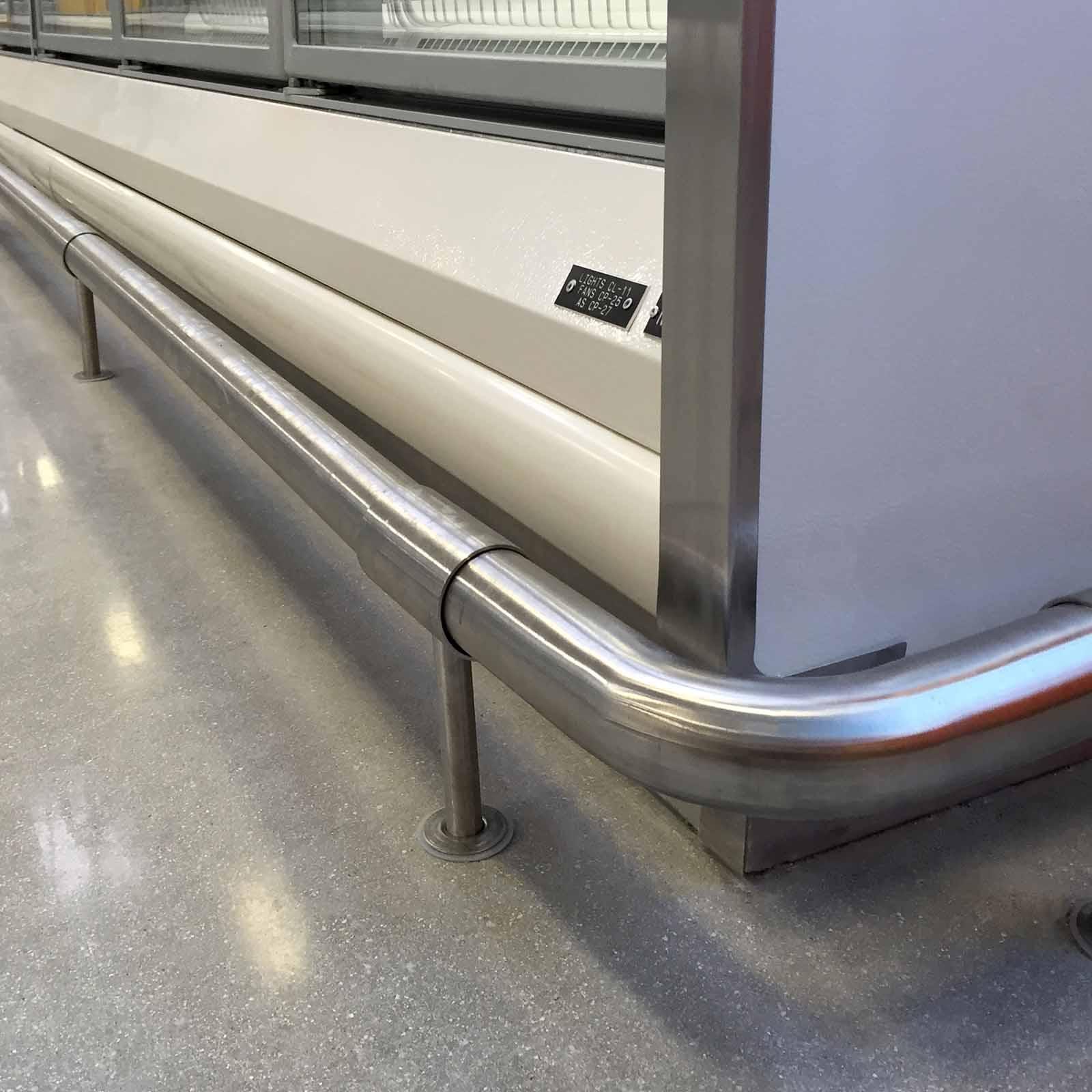 McCue Floor Rail Low Level Protection