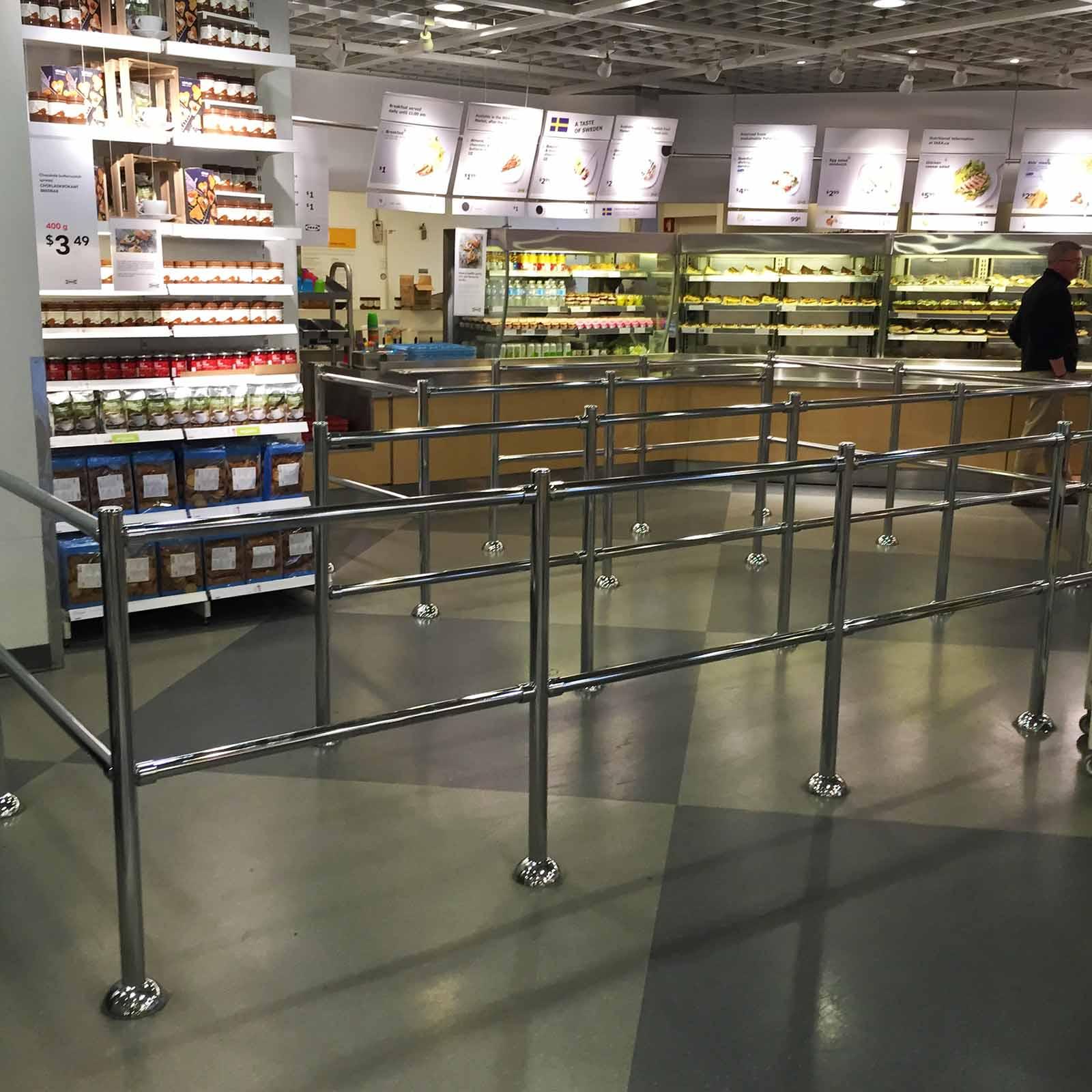 McCue Guidance Rail in Store