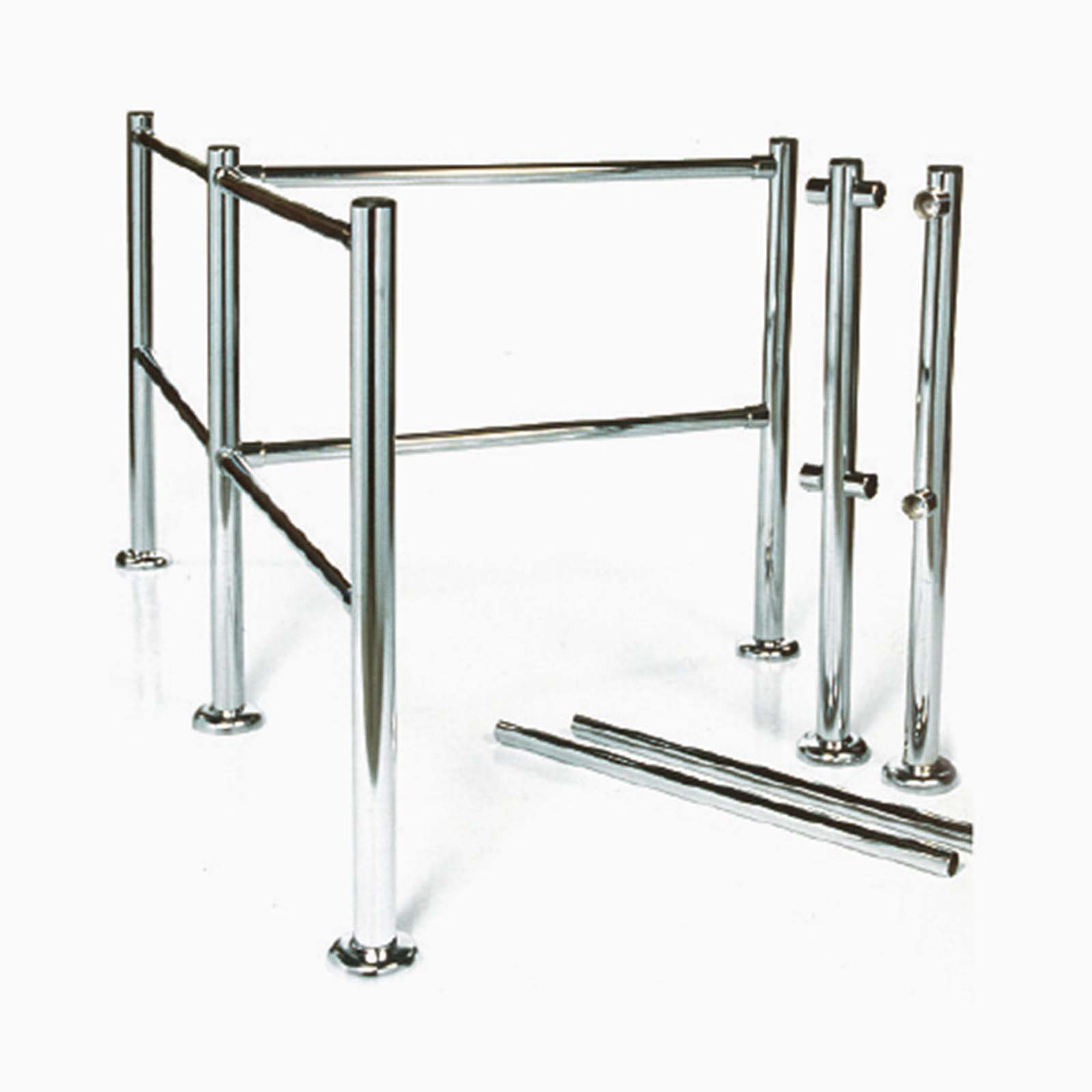 McCue Guidance Rail in Store with Shopping carts