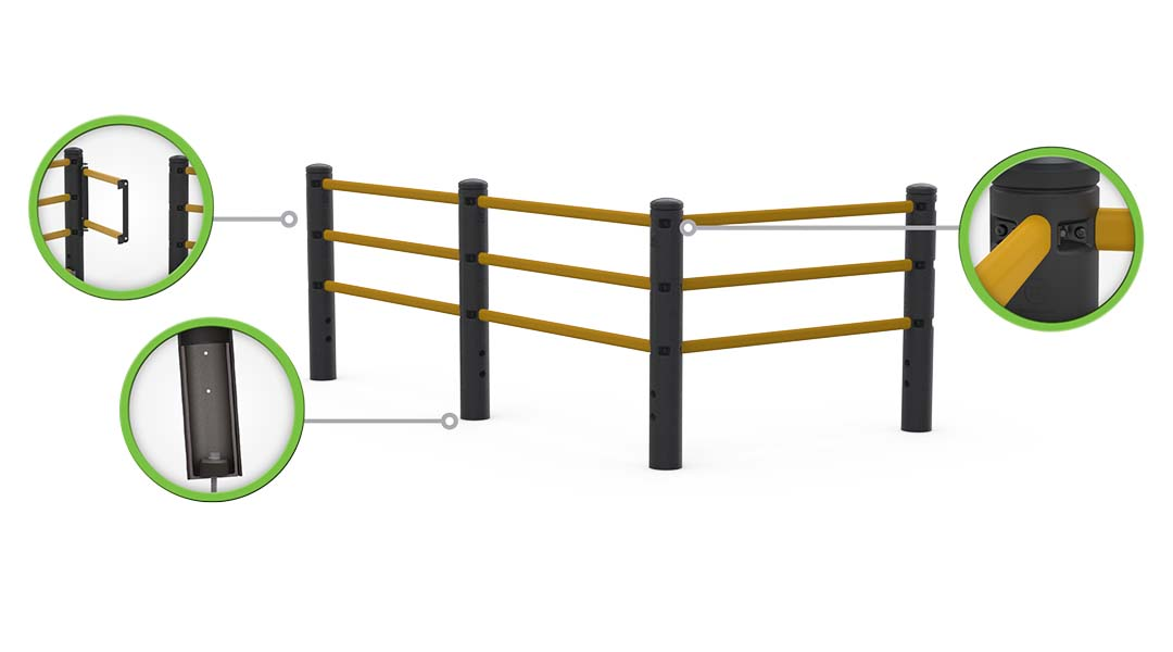McCue Pedestrian Barrier Safety Protection How It Works