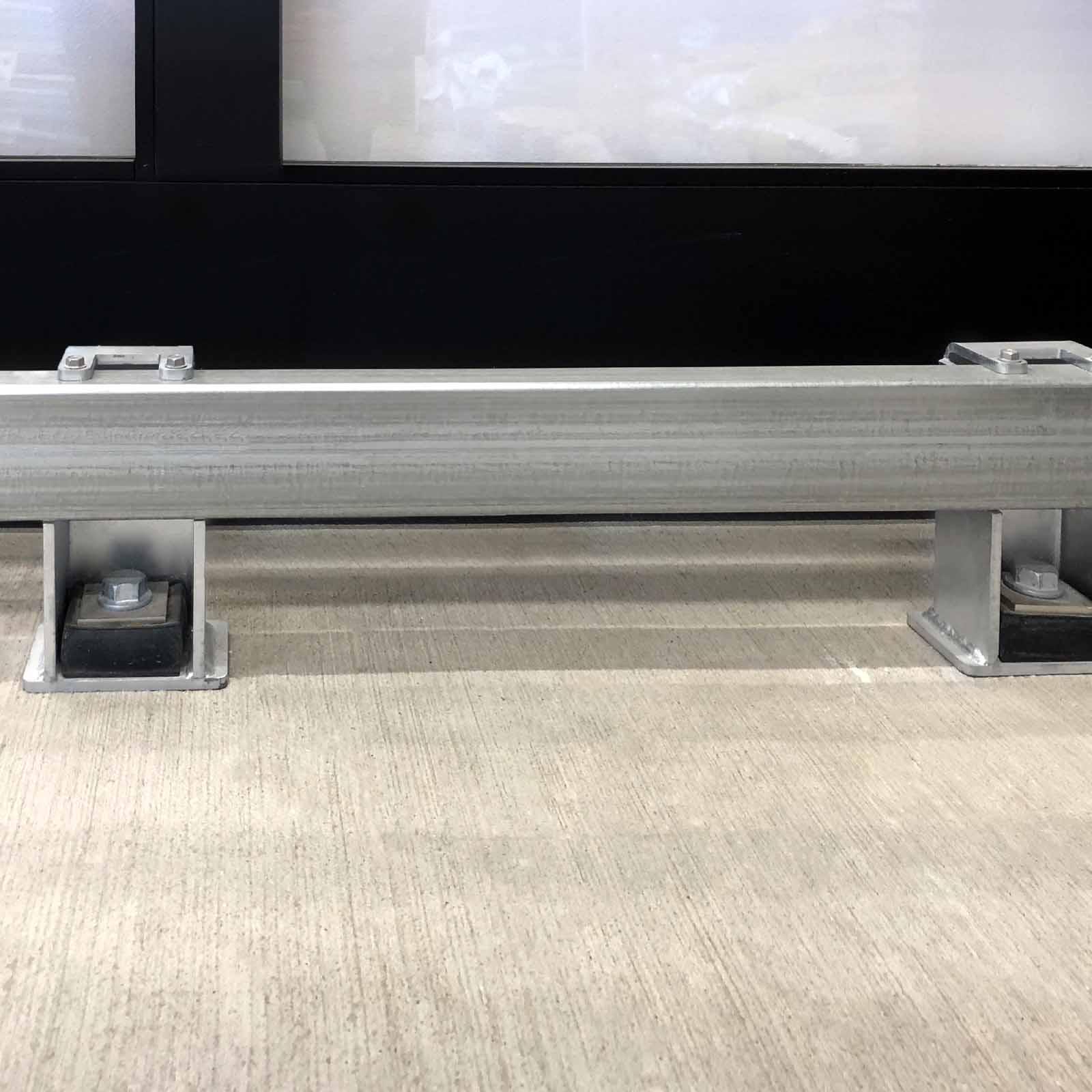 McCue Shock-Absorbing Box Rail Floor Rail