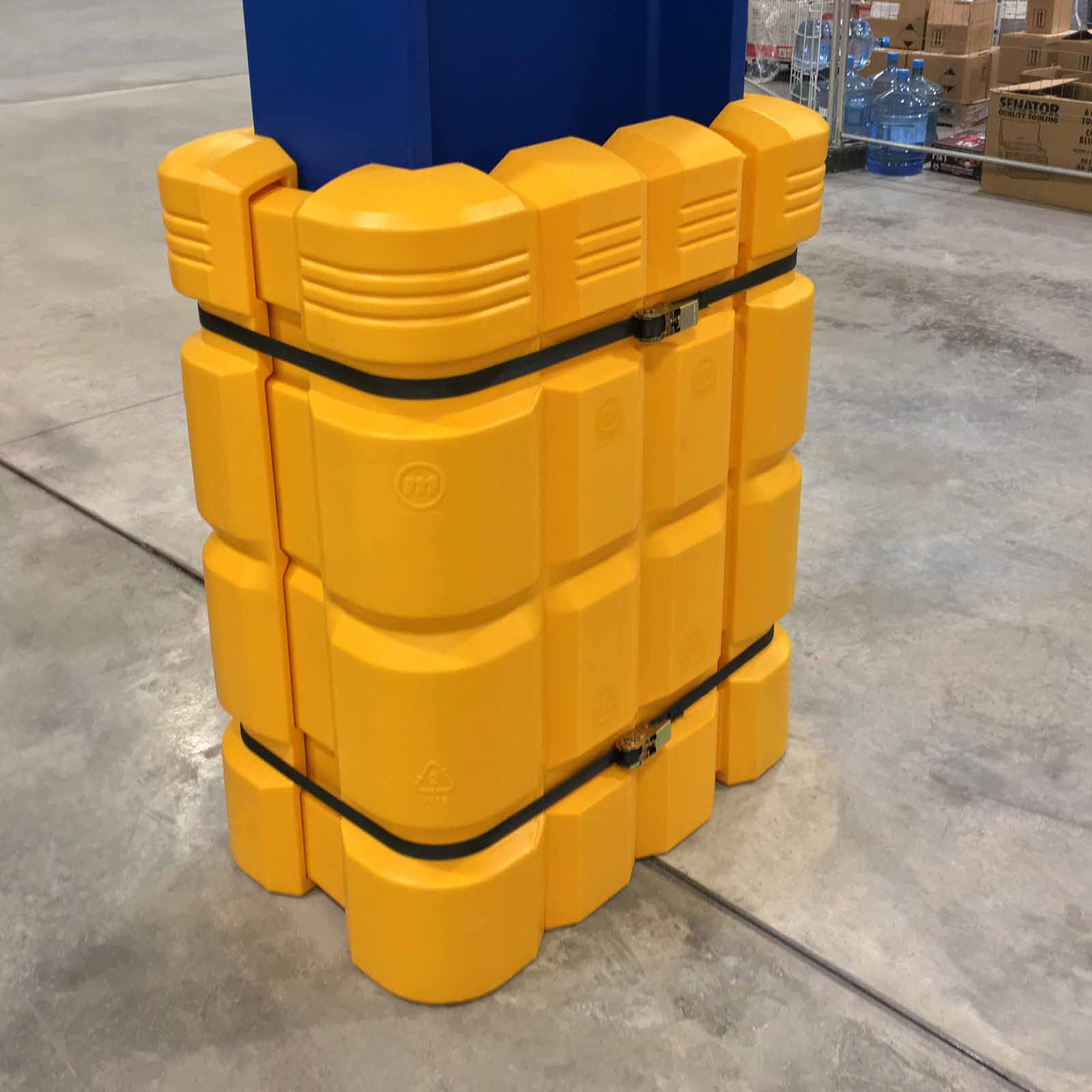 McCue Column Guard Safety Barrier Protection