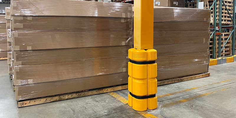 Column Guard with Additional Padding