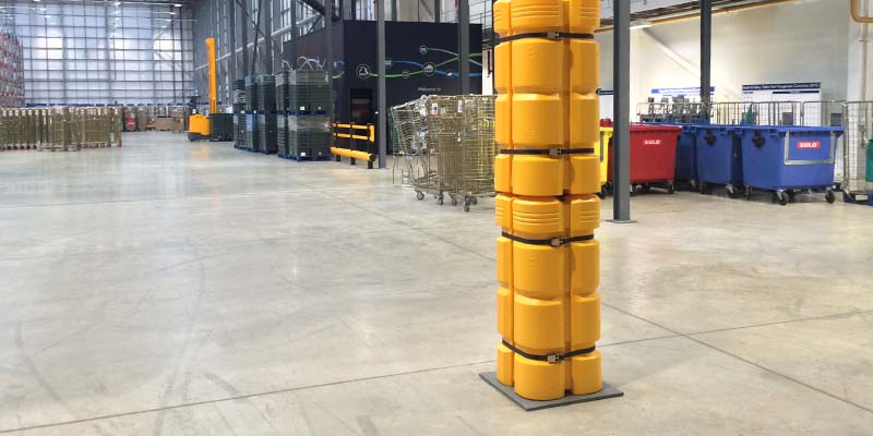 Double Stacked Column Guard