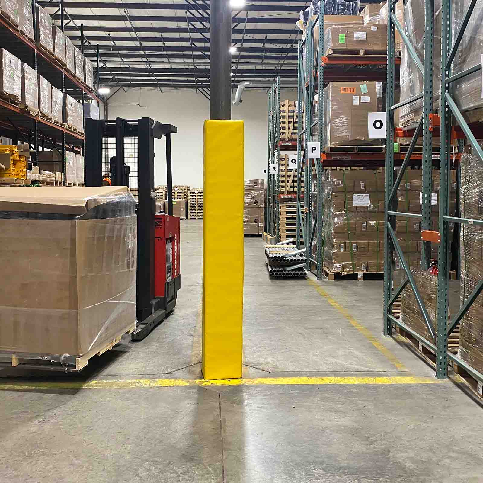 McCue Column Guard Padding Safety Barrier Protection