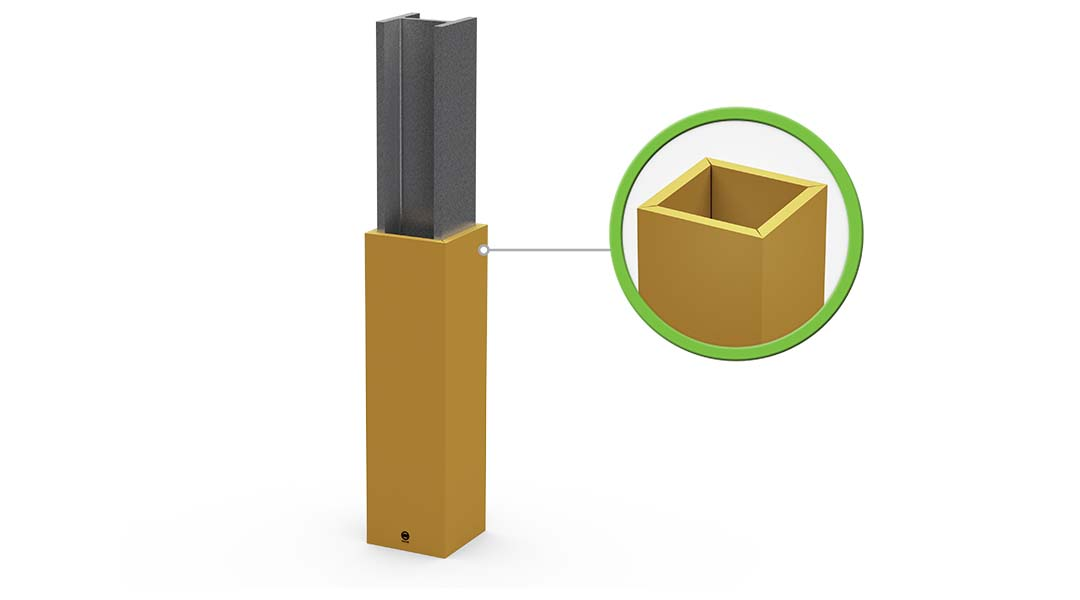 McCue Column Guard Padding Safety Barrier Protection How It Works