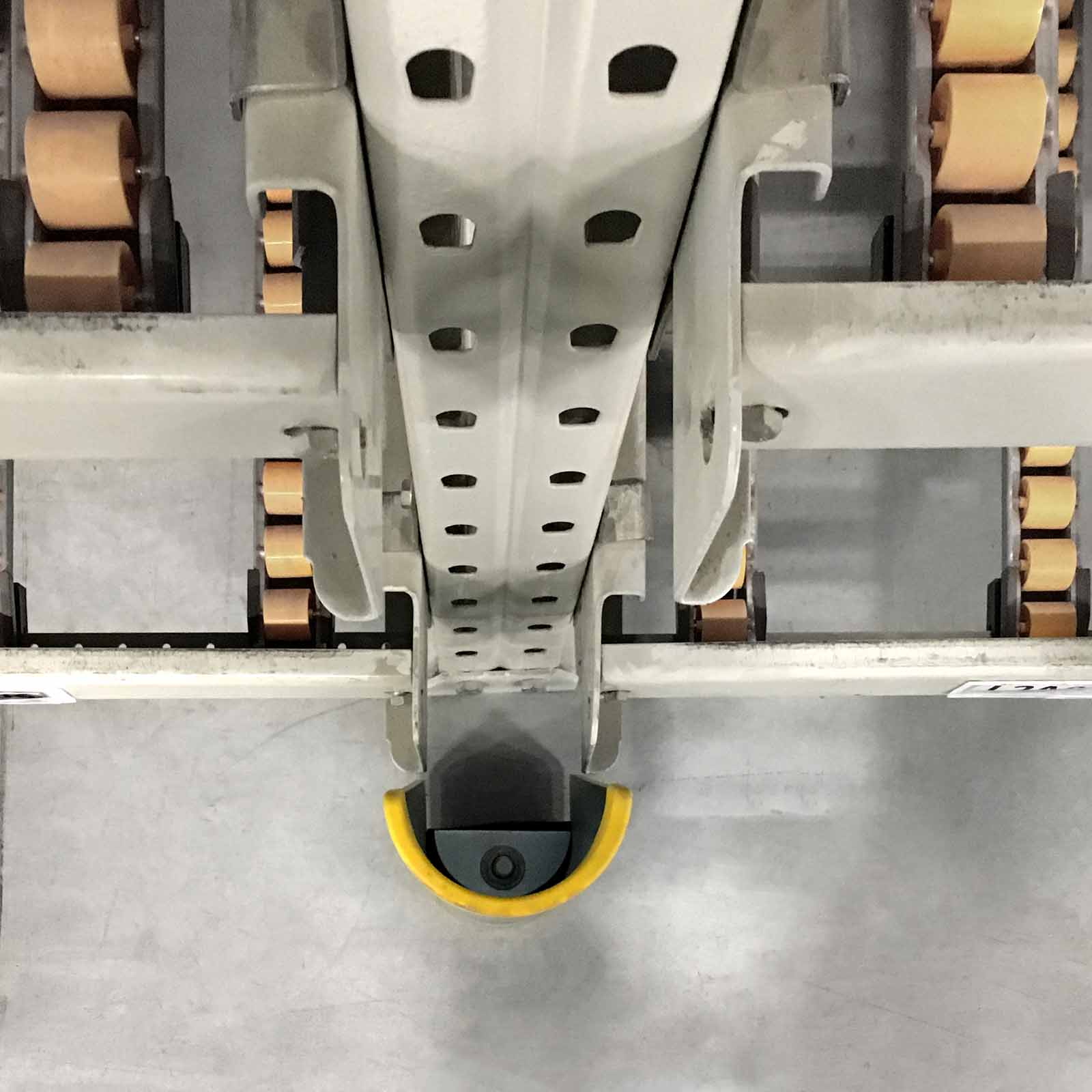 McCue Shock-Absorbing Rack Guard Safety Protection