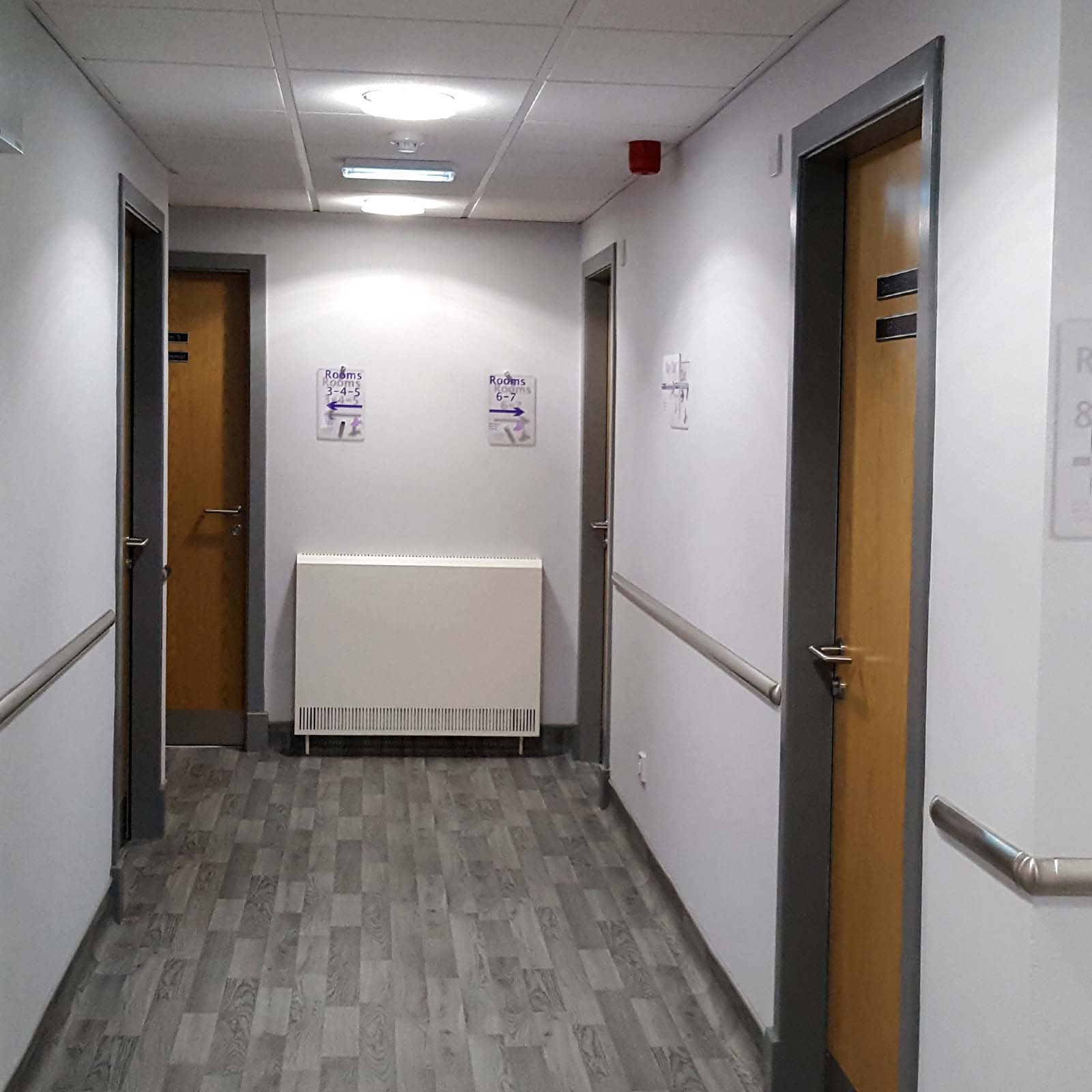 McCue Stainless Steel Wall Mounted Bumper System