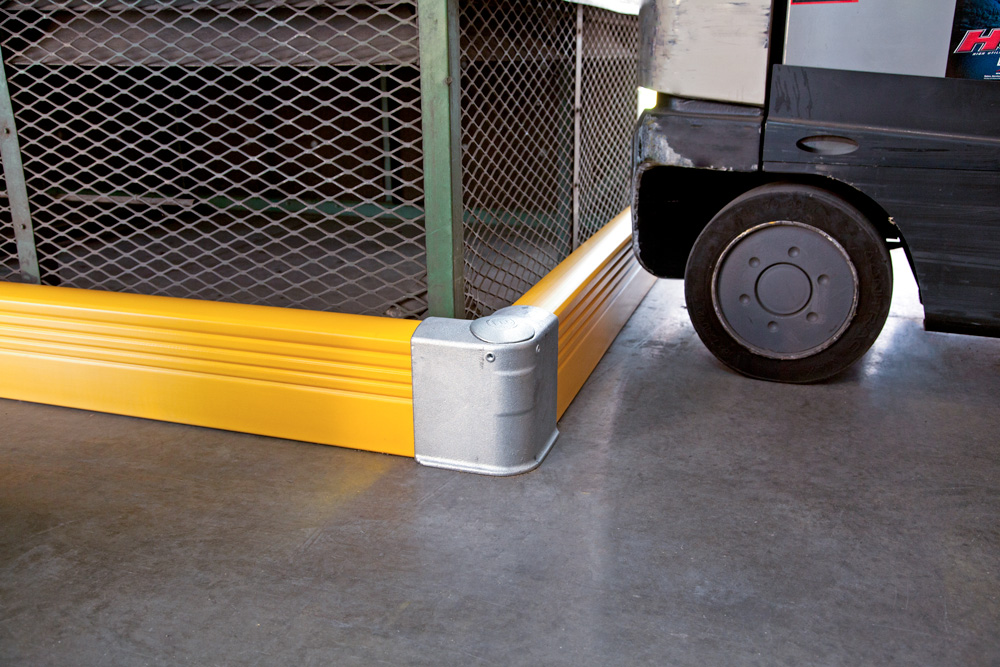 Warehouse Guardrail Safety Barriers