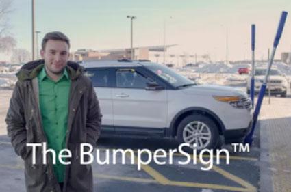 McCue BumperSign