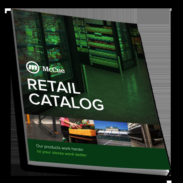 McCue Retail Catalog cover